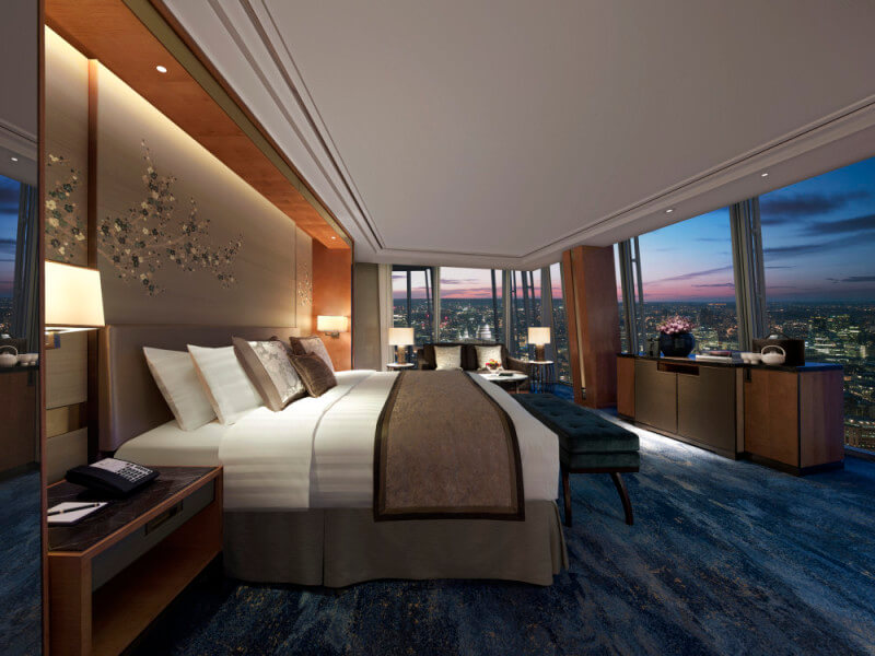Iconic City View Room - Shangri-La Hotel, At The Shard, London