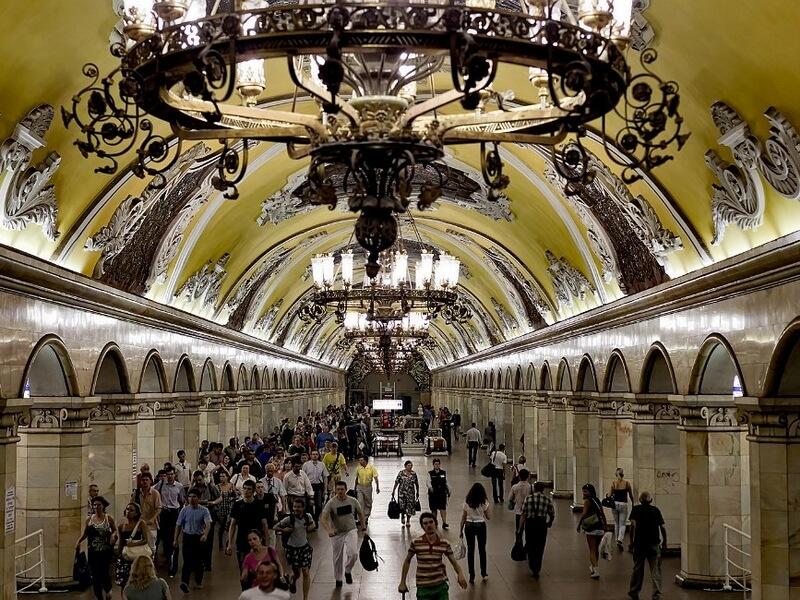 Komsomolskaya Station Foto: Reprodução